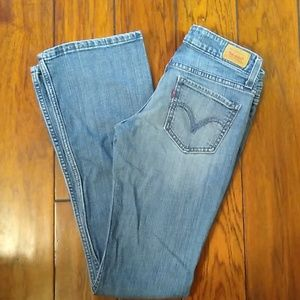 Levi's 518 Super Low. Size 0 Medium.